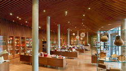 Tienda del Museo Crystal Bridges / Marlon Blackwell Architect
