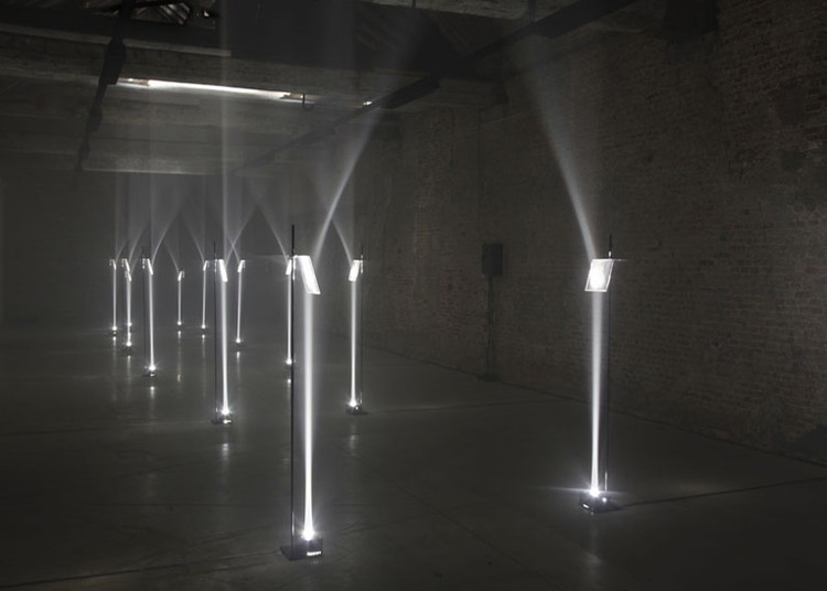 Iluminación Arcades por Troika, © Frederik Vercruysse