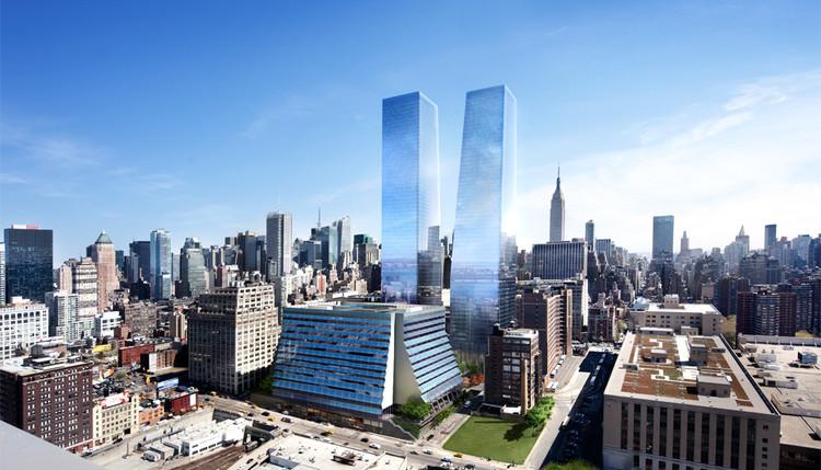 Brookfield's Manhattan West Breaks Ground, Manhattan West; Courtesy of Brookfield Development