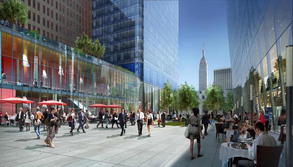 Brookfield's Manhattan West Breaks Ground