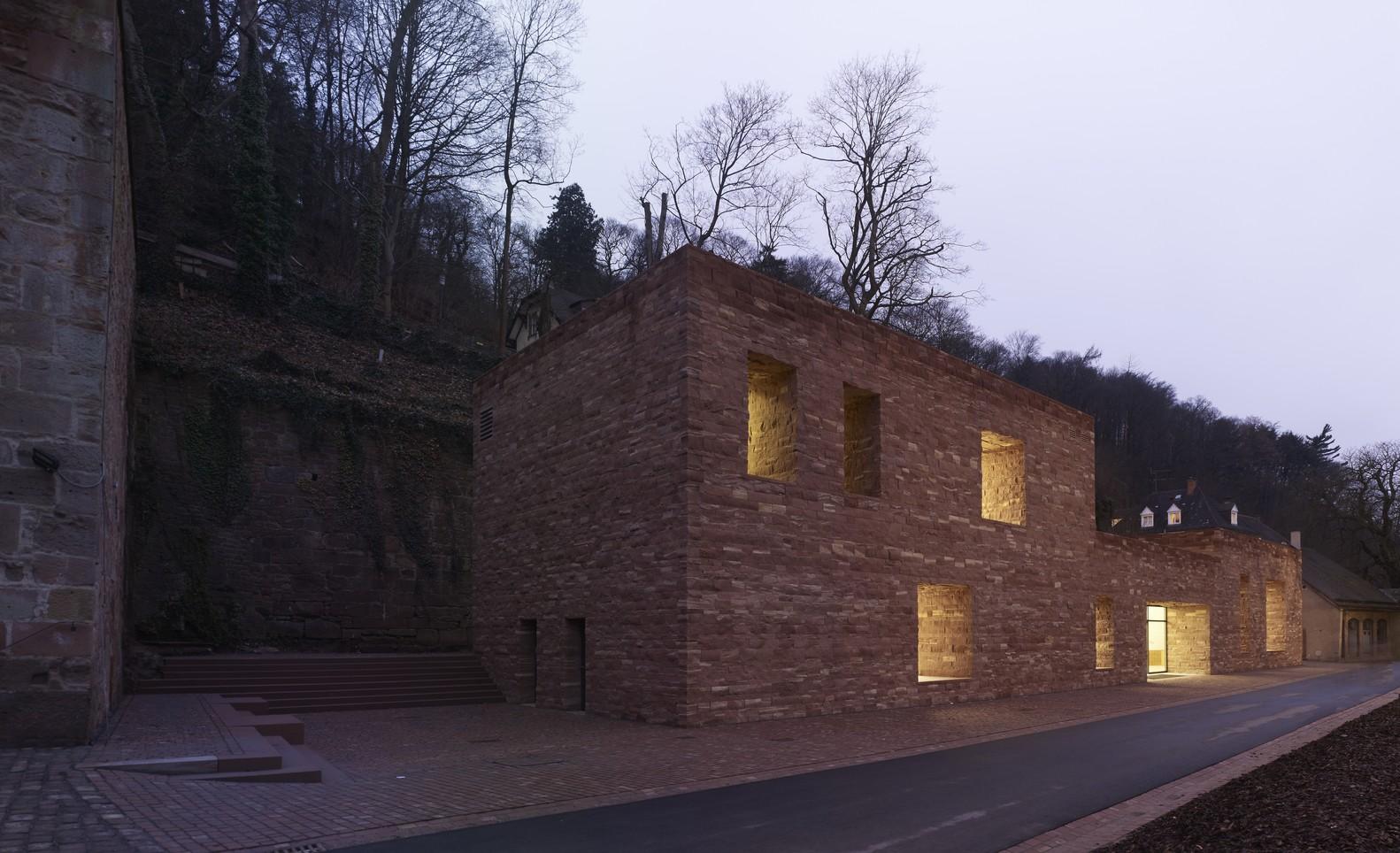 Architekt Heidelberg gallery of heidelberg castle max dudler architekt 4