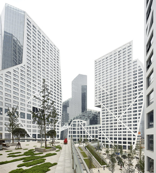 Sliced Porosity Block / Steven Holl Architects, por Hufton + Crow, © Hufton+Crow