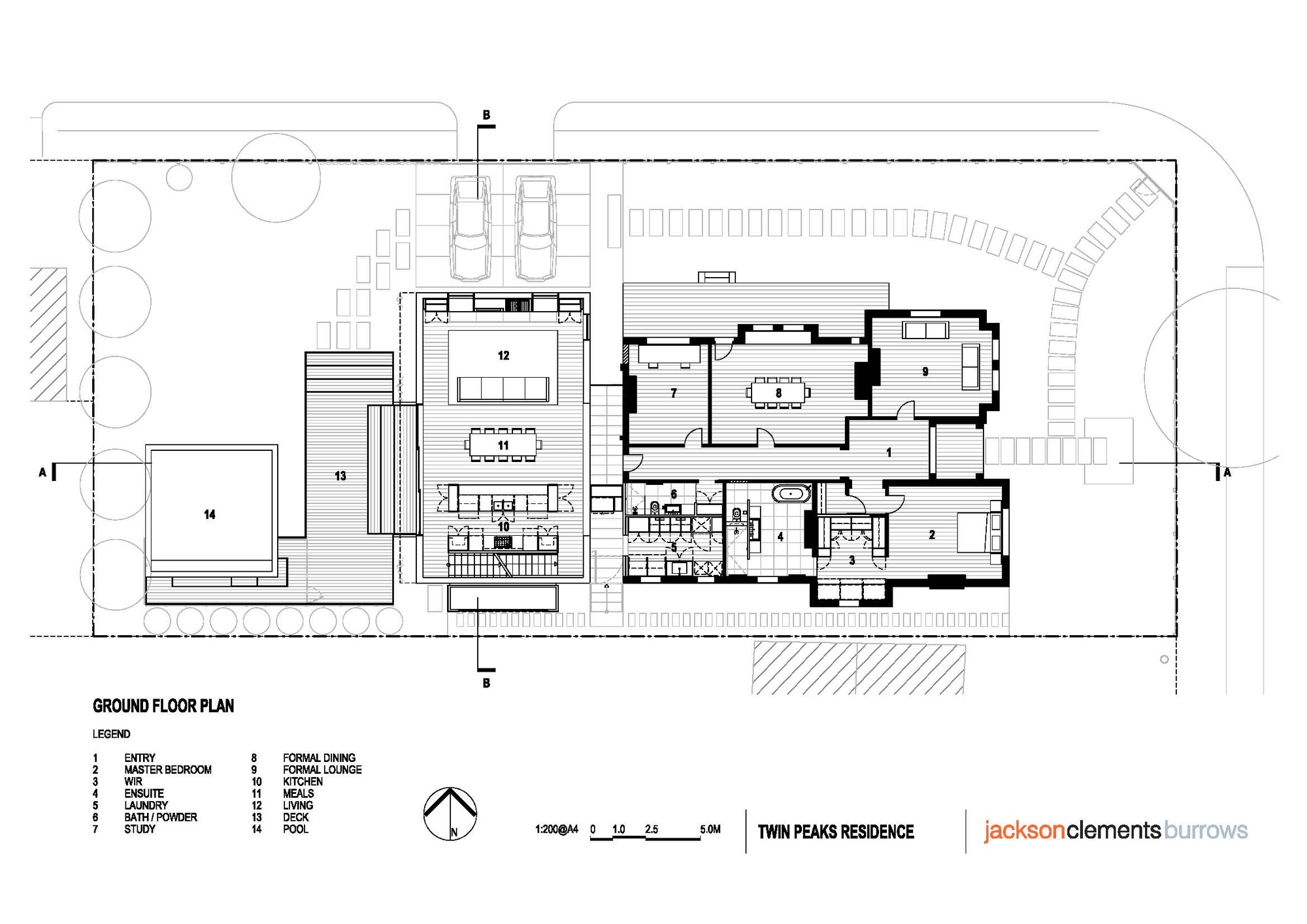 Twin peaks floor plan thefloors co for Twin home floor plans