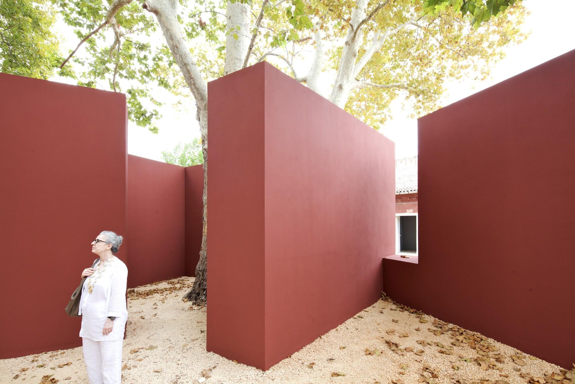 Álvaro Siza Pavilion Will Remain at Venice Bienniale Until 2016, Pavilhão de Álvaro Siza © Nico Saieh