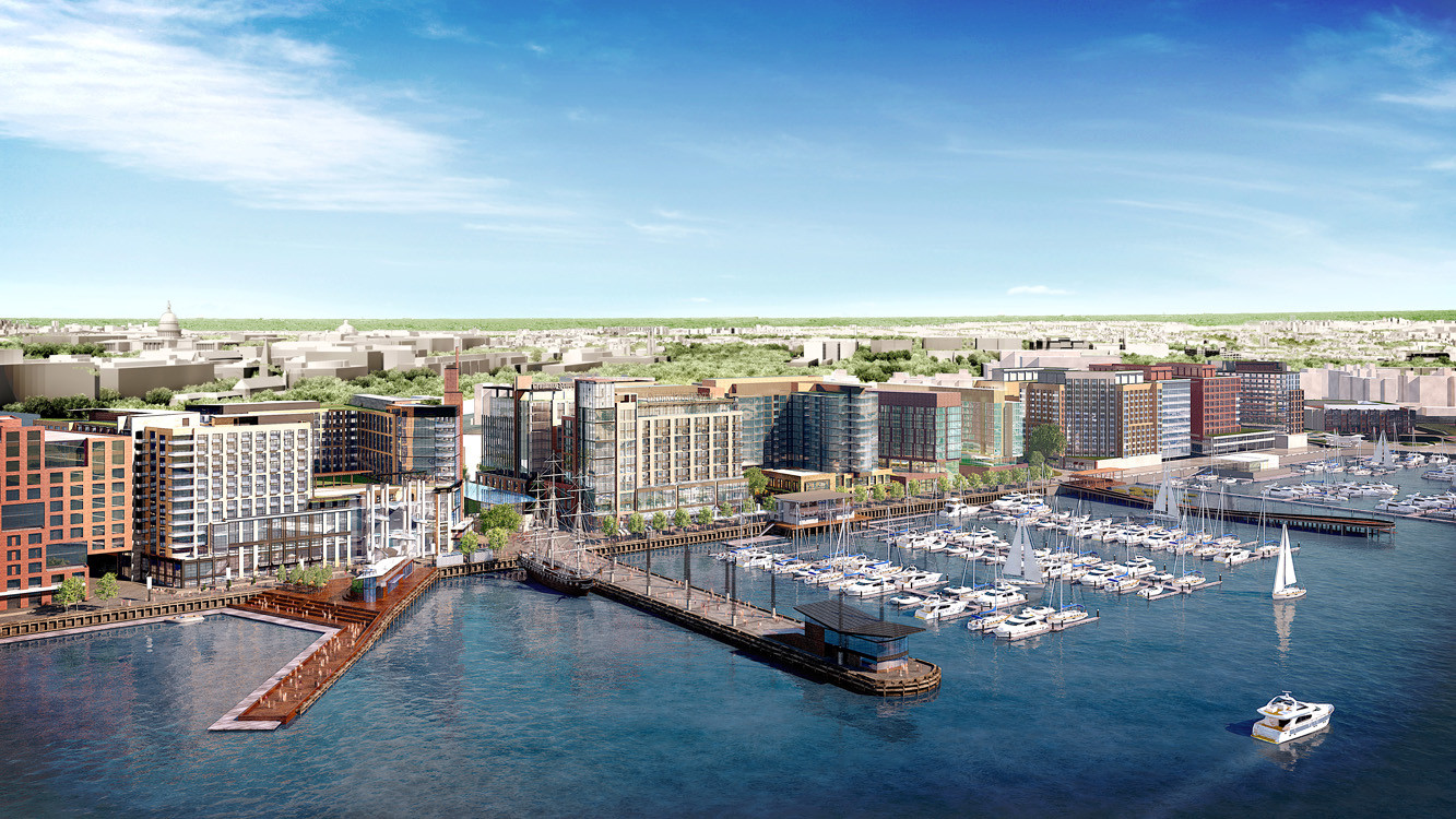 Mive Waterfront Redevelopment Receives Green Light In Washington D C Archdaily