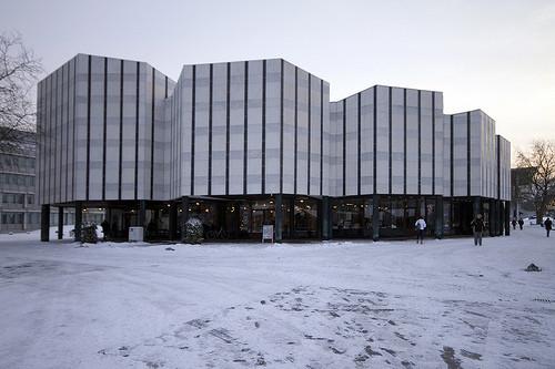 Ad classics wolfsburg cultural center alvar aalto for Ad architects