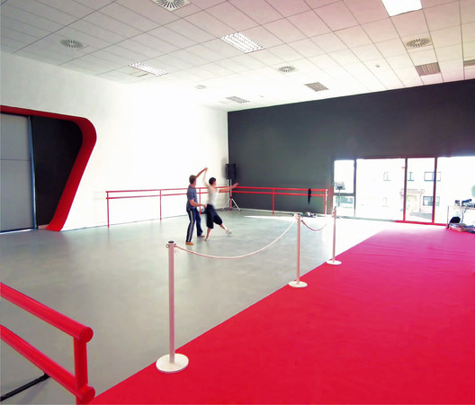 Escuela de danza en oleiros naos arquitectura for Escuela de decoracion de interiores
