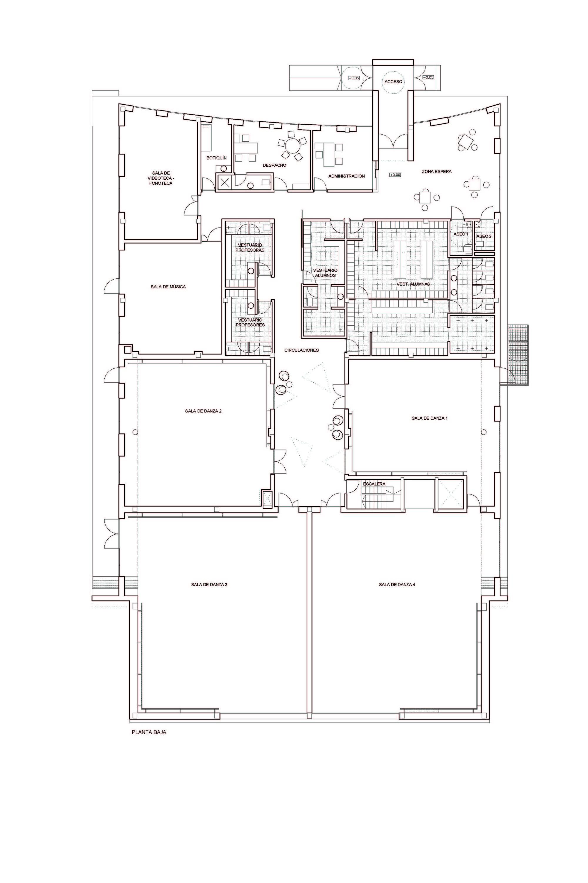 Galeria Escola de Dança em Oleiros / NAOS Arquitectura 32 #685449 2000 3004