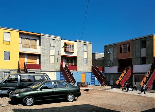 Quinta Monroy development after occupation. © Cristobal Palma