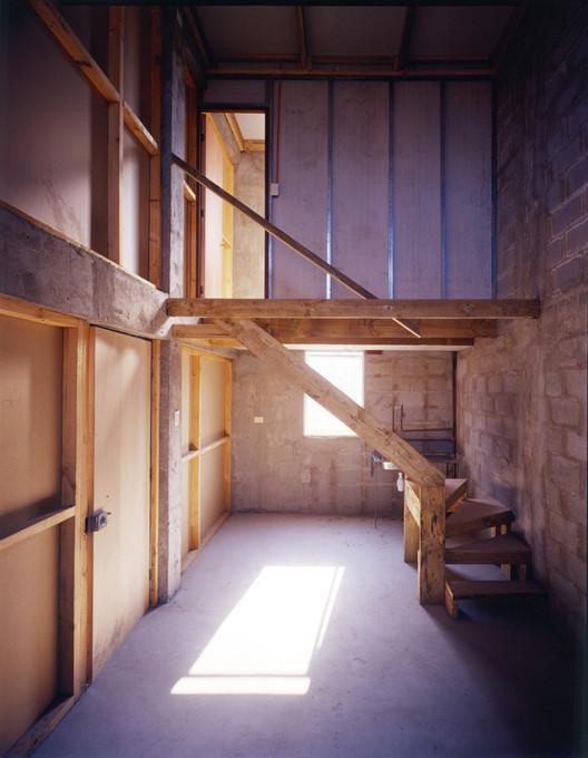 Quinta Monroy interior before occupation. © Elemental