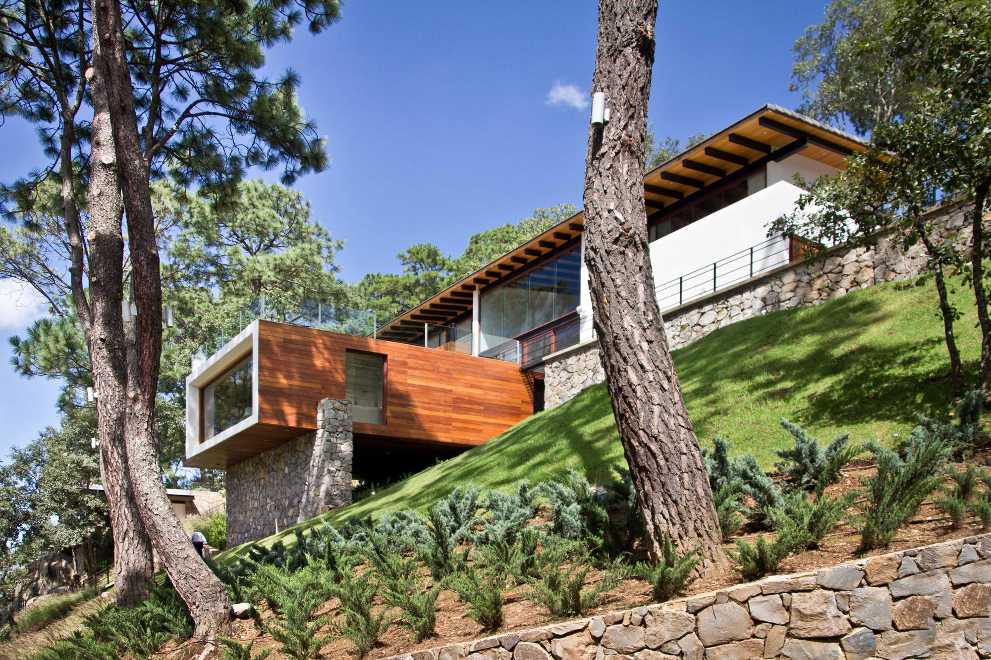 Casa En El Bosque Espacio Ema Archdaily M Xico