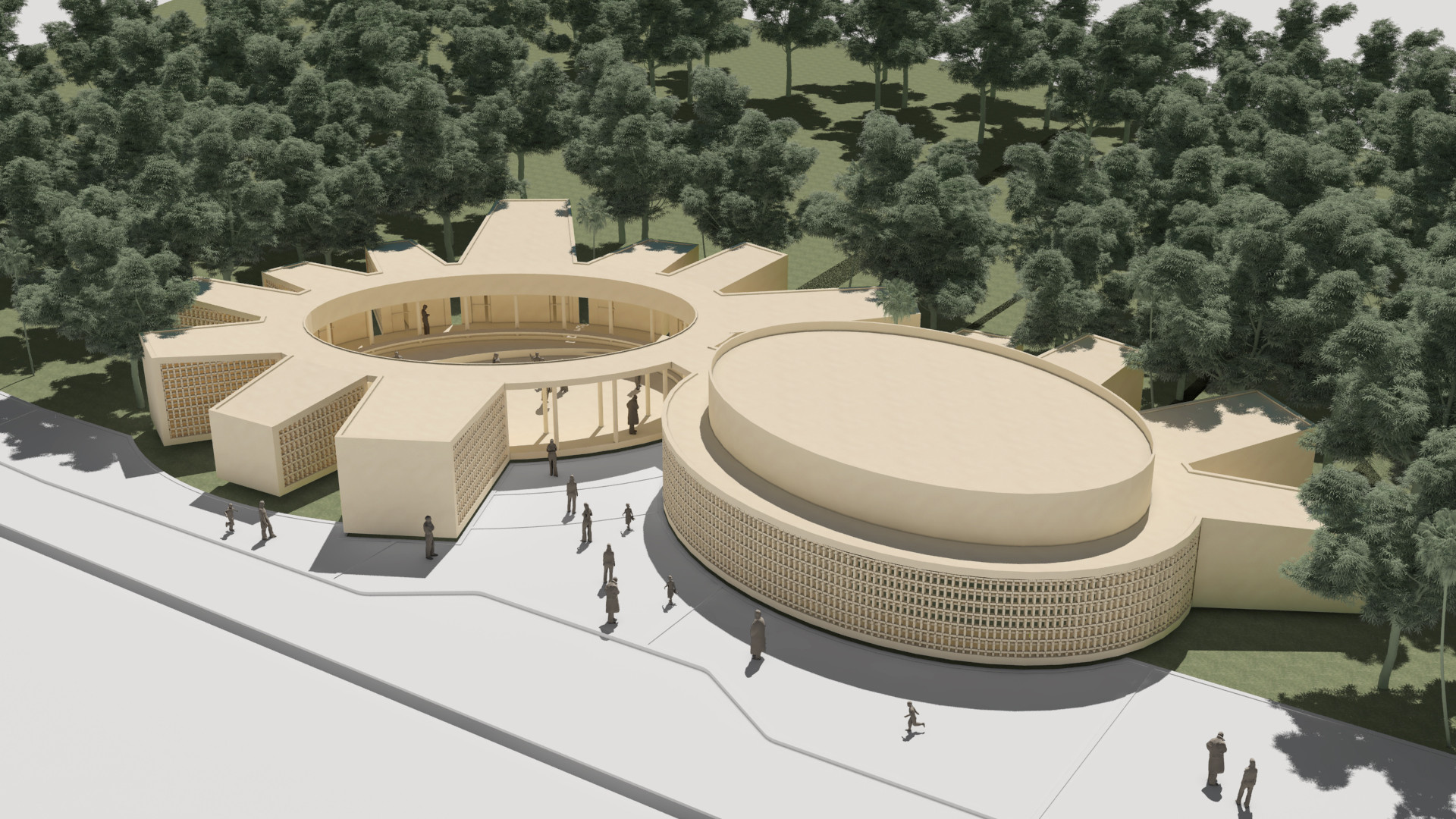 Galeria de primeiro lugar no concurso prot tipo de escola for Plantas de colegios arquitectura