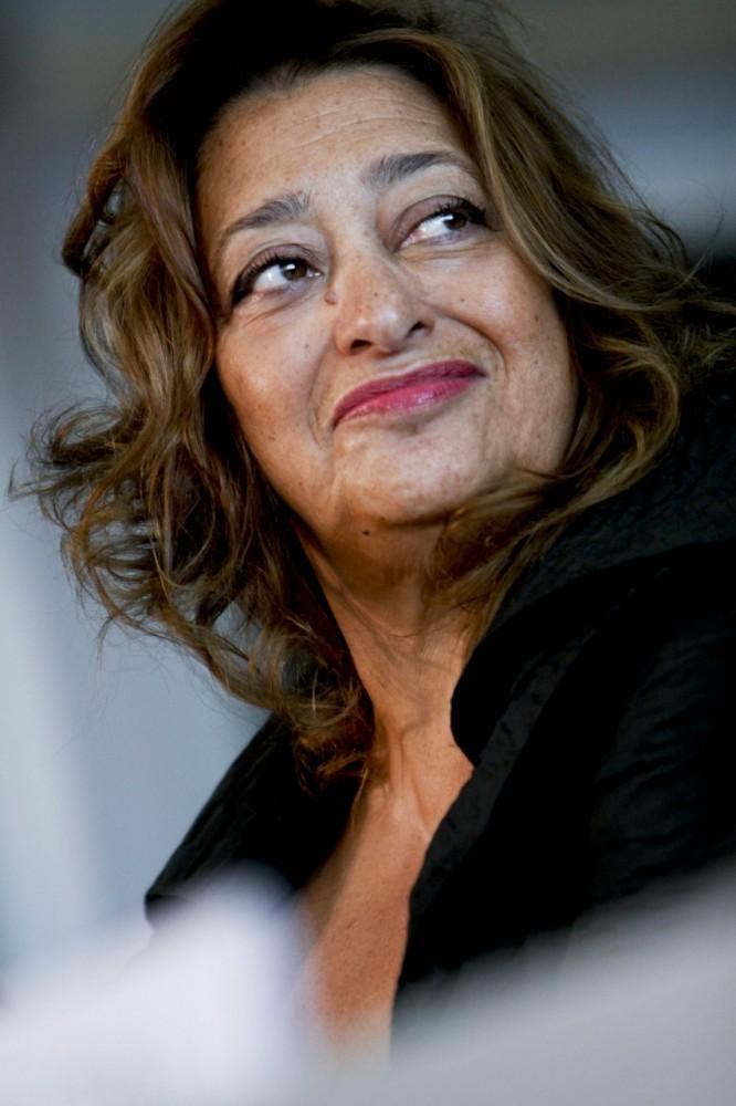 Zaha Hadid Receives Aenne Burda Award for Creative Leadership