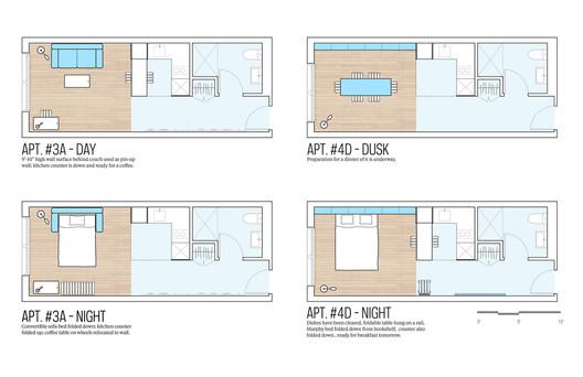 """My Micro NY"" Floor Plan © nycmayorsoffice/Flickr"