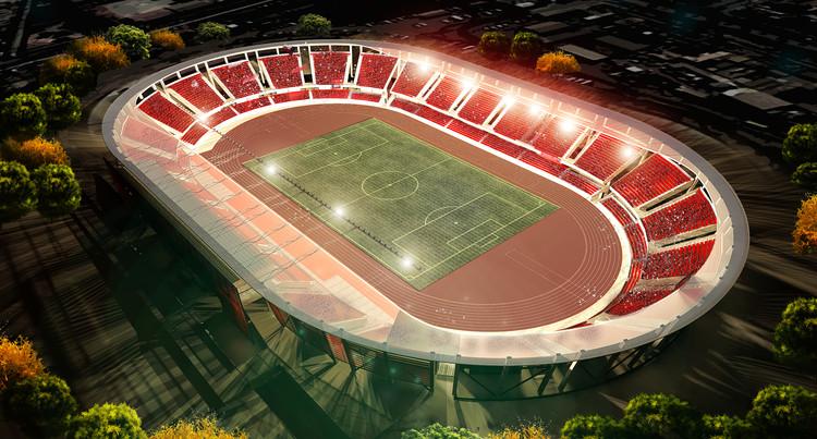 """Estadio """"La Portada"""" de La Serena, Cortesía de laserena.cl"""