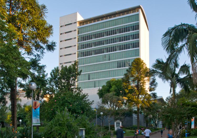 Biblioteca da PUC-RS / Santini & Rocha Arquitetos, © Marcelo Donadussi