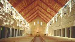Igreja da Abadia Cisterciense / Cunningham Architects