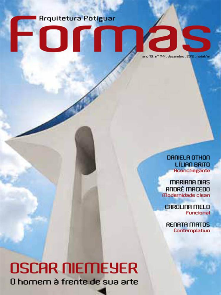 Revista Forma lança edição de Dezembro especial a Oscar Niemeyer, Cortesia de Revista Forma