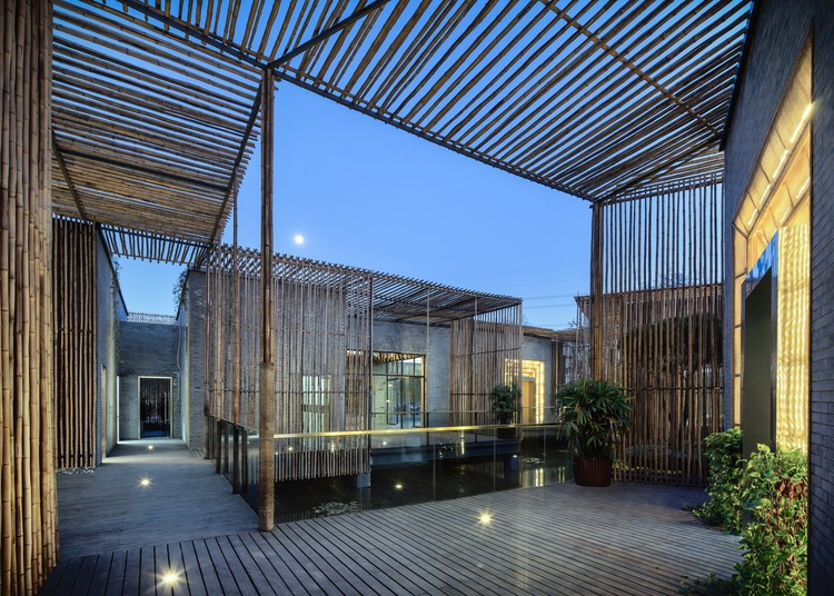 Bamboo Courtyard Teahouse / Harmony World Consulting & Design, © T+E