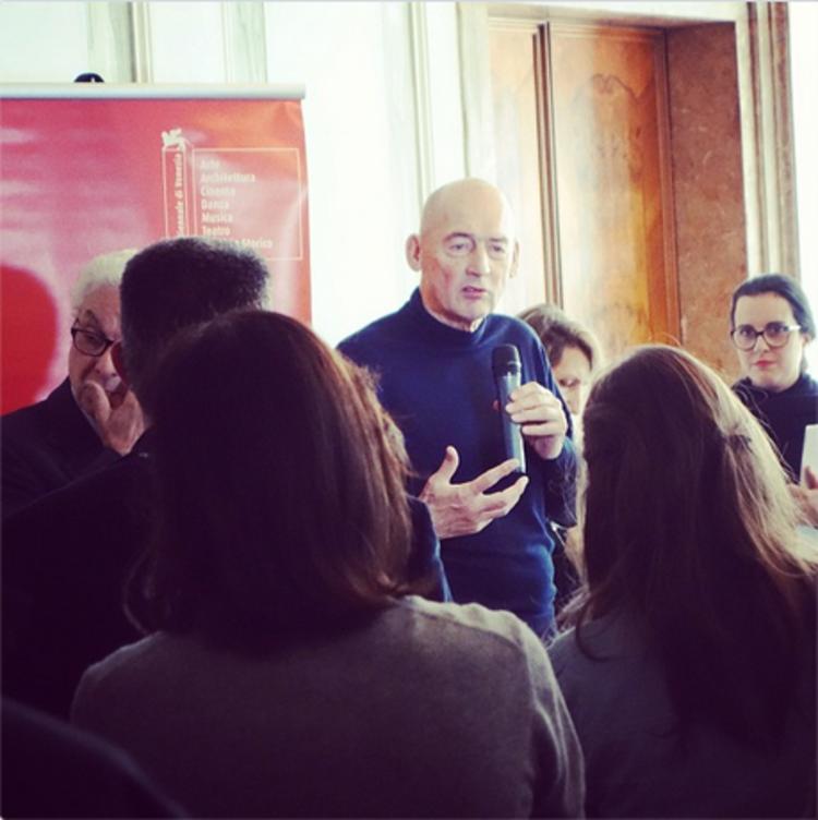 Koolhaas revela o tema para a Bienal de Veneza 2014, Imagem via Instagram - Usuário Josephgrima http://instagram.com/p/U6DMbxNuK4/