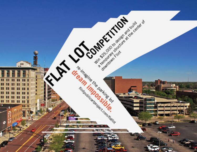 AIA anuncia seu primeiro concurso anual para um Pavilhão Temporário de uso público, Cortesia de FlintPublicArtProject.com