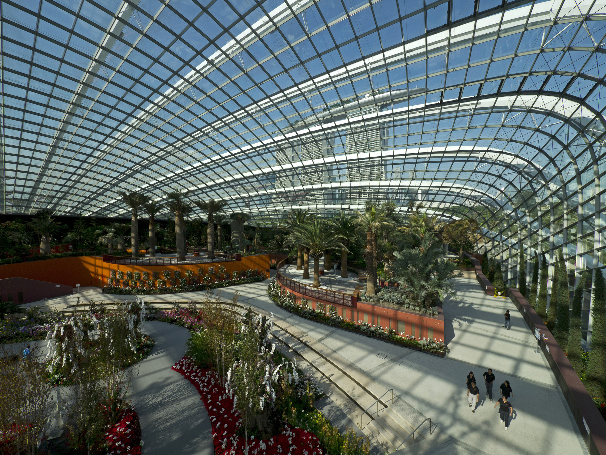 cooled conservatories at gardens by the bay wilkinson eyre architects archdaily
