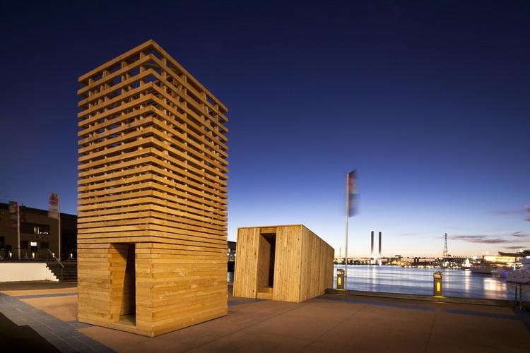Pavilhão Sealight  / Departamento de Arquitetura da Universidade de Monash, © Gary Annett Photography