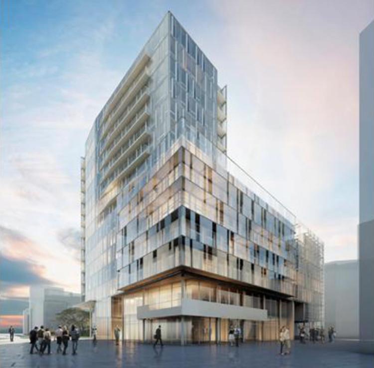 Richard Meier derrota Zaha e Foster no projeto de um edifício em  Hamburgo, Cortesia de BD Online