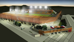En Construcción Noticias: Se aprueba por completo el diseño del nuevo estadio de Calama