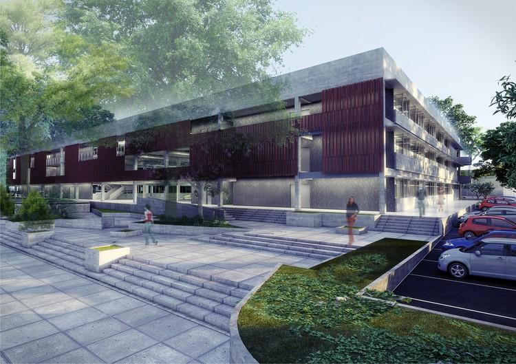Escola Senai / NPC Grupo Arquitetura, Cortesia de NPC Grupo Arquitetura