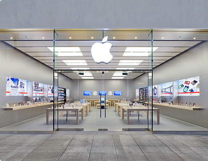 Apple's Typical Store Design © bfishadow via Flickr