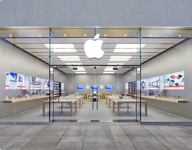 trademark awarded to apple retail stores archdaily