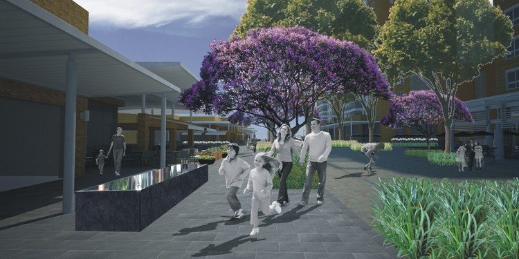 Street Scape Pedra Branca / Jardins Arquitetura e Engenharia, Cortesia de Jardins Arquitetura e Engenharia