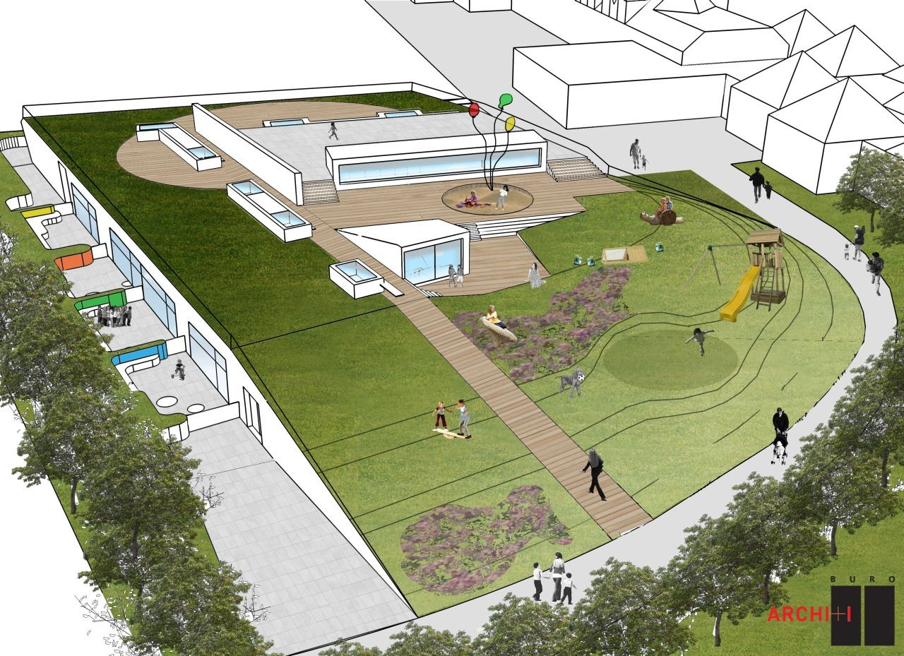 Gallery of passive kindergarten oostduinkerke buro ii for Buro ii archi i