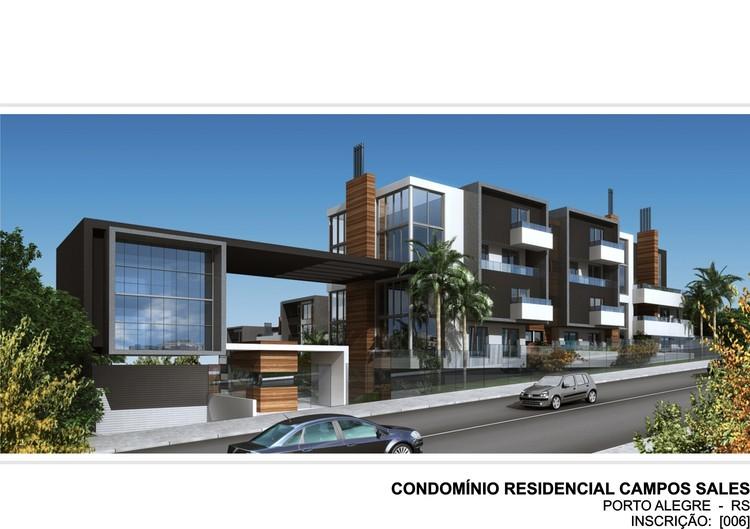 Condomínio Residencial Campos Salles / Torres & Bello Arquitetos Associados, Cortesia de Torres & Bello Arquitetos Associados