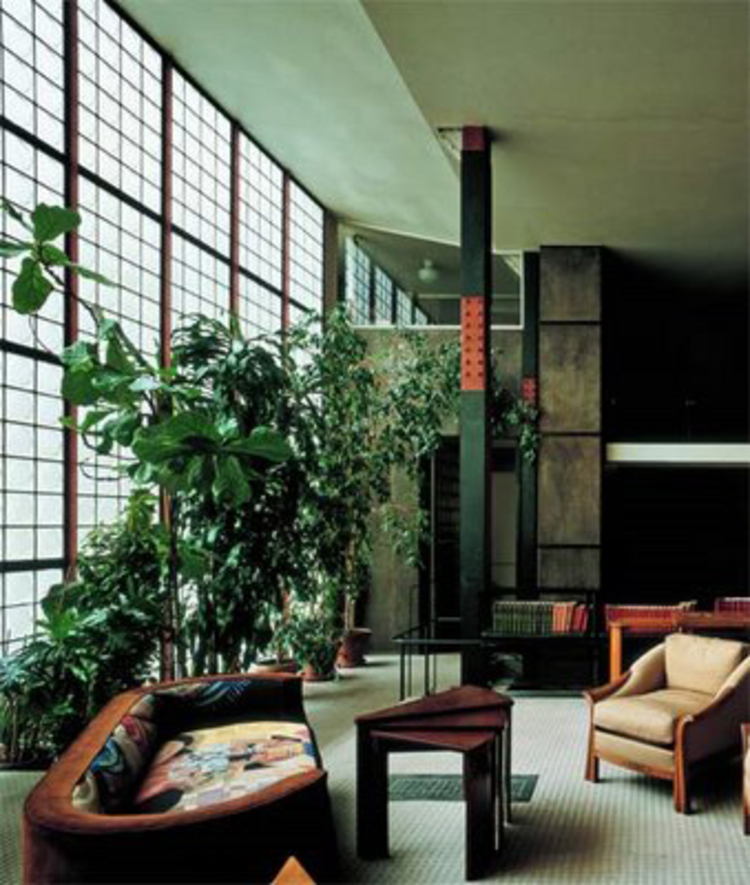 ad classics maison de verre pierre chareau bernard bijvoet archdaily. Black Bedroom Furniture Sets. Home Design Ideas