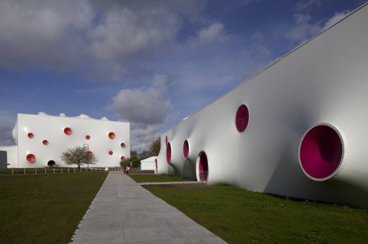 Gag Order Released on the London Olympics' Architects, Olympic Shooting Venue / Magma Architecture © J.L. Diehl