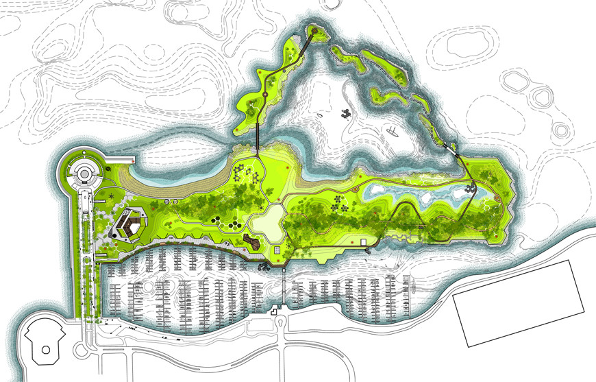 Studio Gang Breaks Ground on Ecologically Diverse Urban Mecca
