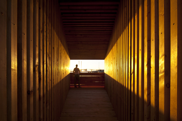 Pabellón Sealight / Universidad de Monash + Rintala Eggertsson, Grimshaw y Felicetti, © Gary Annett Photography