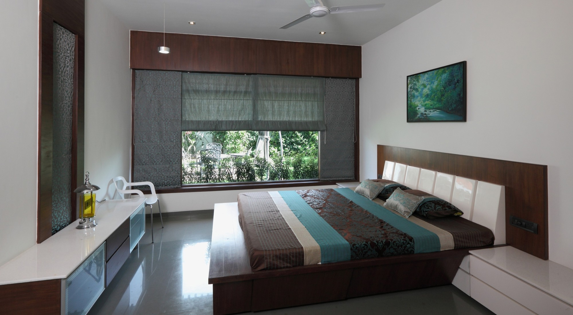 modern window treatments for bedroom gallery of dual house vpa architects 3 19302