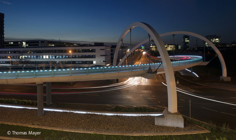 Ueberflieger Bridge / Agirbas & Wienstroer