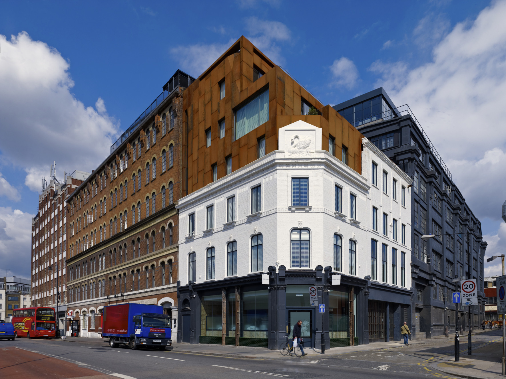 Shoreditch Rooms Archer Architects Archdaily