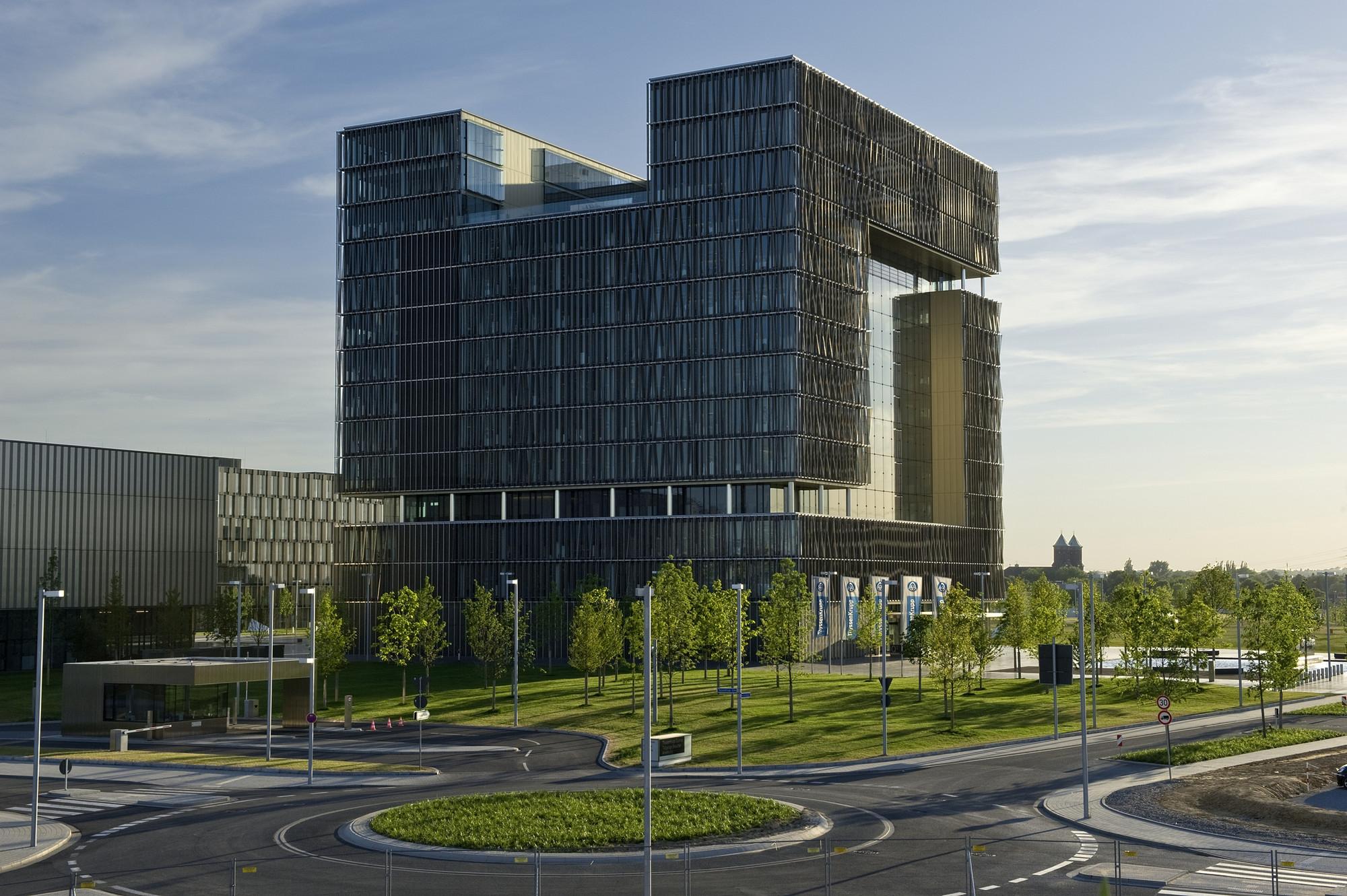 Q1, ThyssenKrupp Quarter Essen / JSWD Architekten + Chaix & Morel et Associés