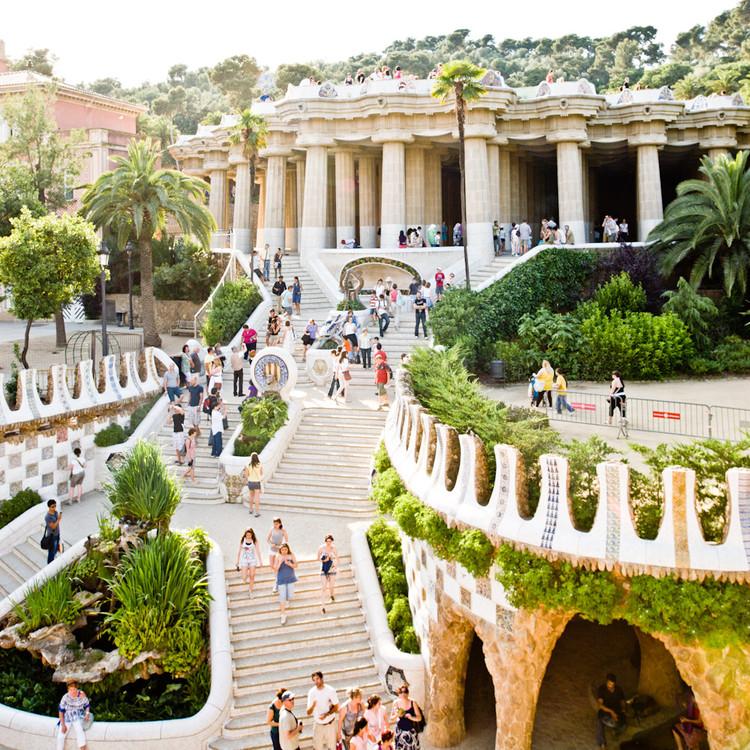 AD Classics: Parc Güell / Antoni Gaudí, © Samuel Ludwig