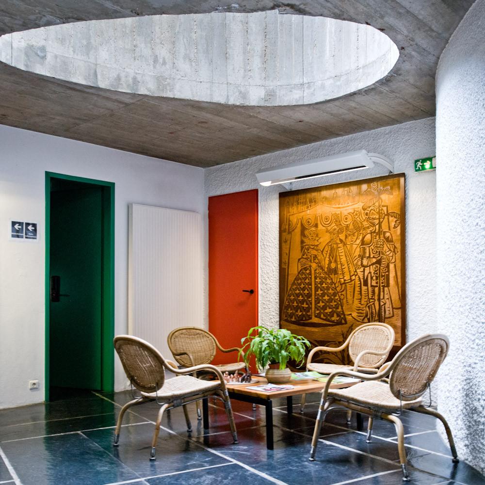 gallery of ad classics maison du bresil le corbusier 5. Black Bedroom Furniture Sets. Home Design Ideas