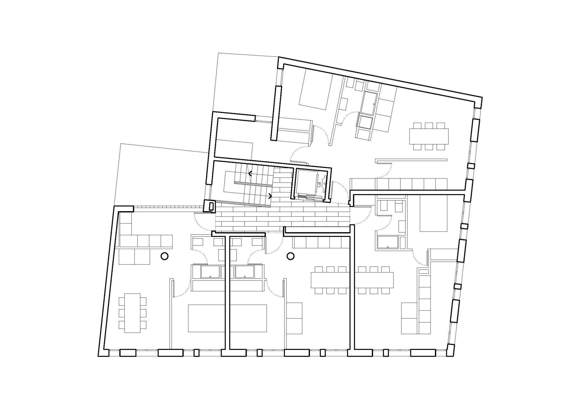 19 Dwellings on Viana Street / García Floquet Arquitectos