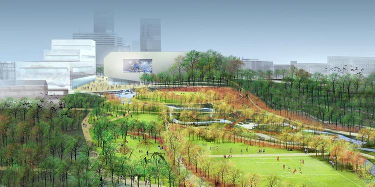 SCAPE's Masterplan for Lexington, Kentucky's Town Branch Commons. Image ©  SCAPE/Landscape Architecture - SCAPE/Landscape Architecture Wins Competition For Lexington