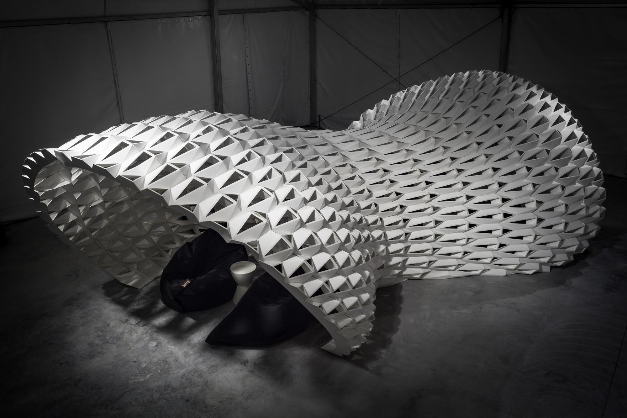 Instalación 'FXFOWLE Lounge' / FXFOWLE Architects, © FXFOWLE Architects