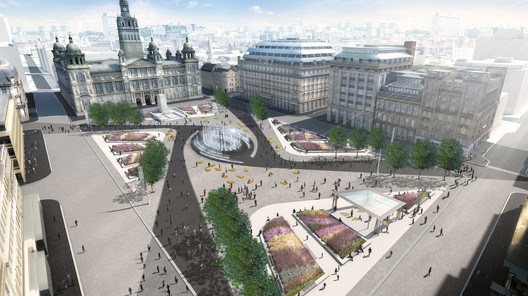 George Square Competition Entry / Burns + Nice