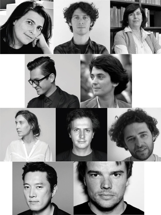 Anúncio do Júri da Trienal de Arquitectura de Lisboa 2013: Close, Closer, Jury Members